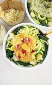 Hummus Zoodles