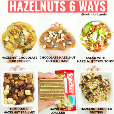 Hazelnuts 6 Ways