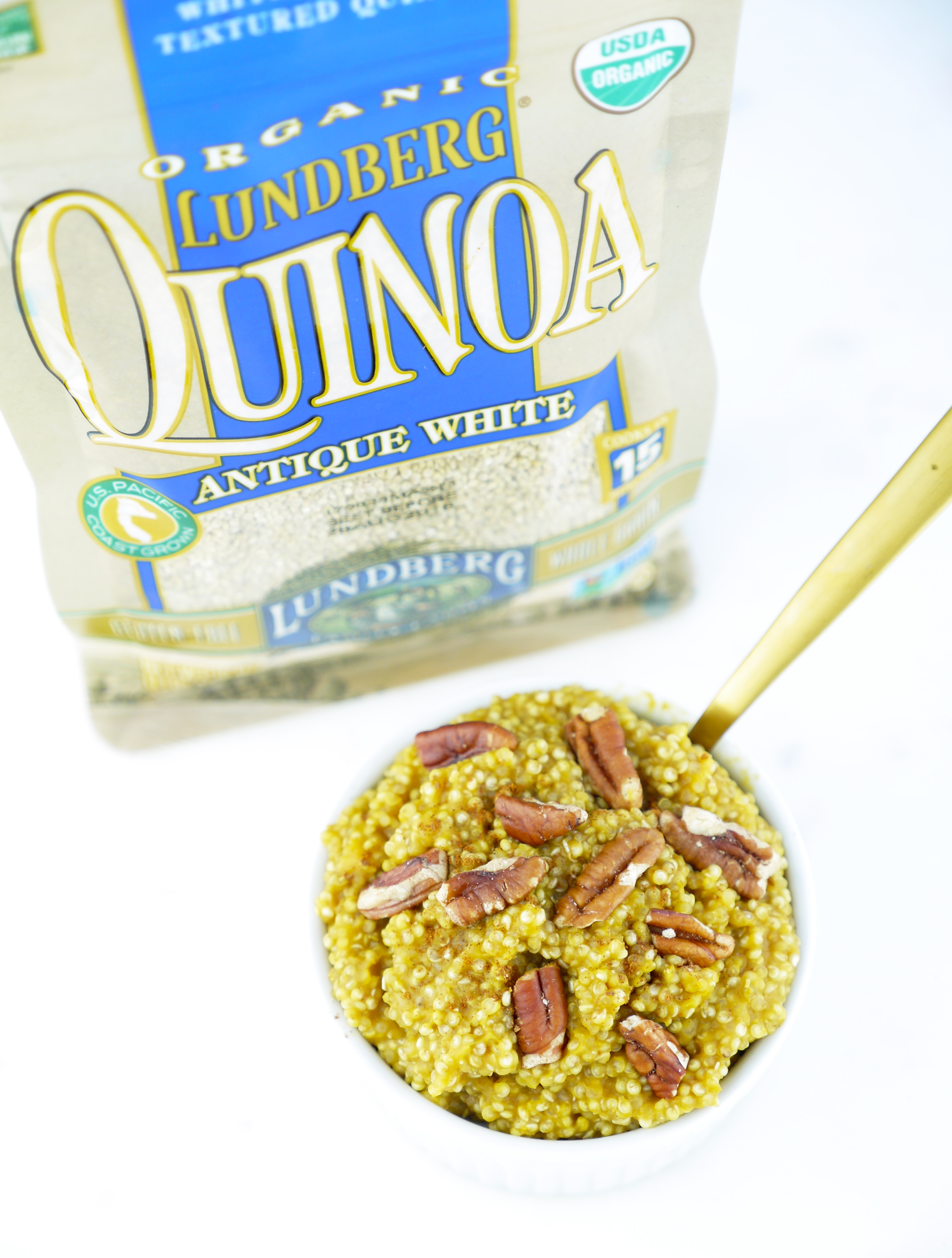 Lundberg Family Farms organic antique white quinoa