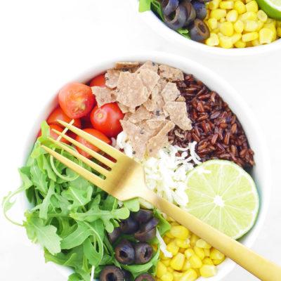 Vegetarian Taco Bowls