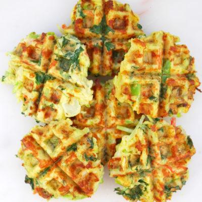 Veggie Blend Breakfast Waffles