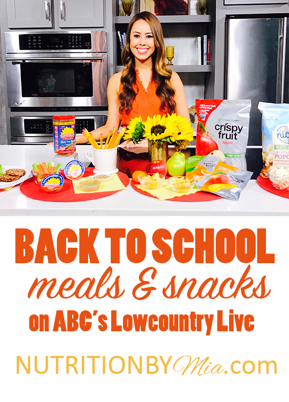 Mia Syn Tv Dietitian Nutritionist Back To School