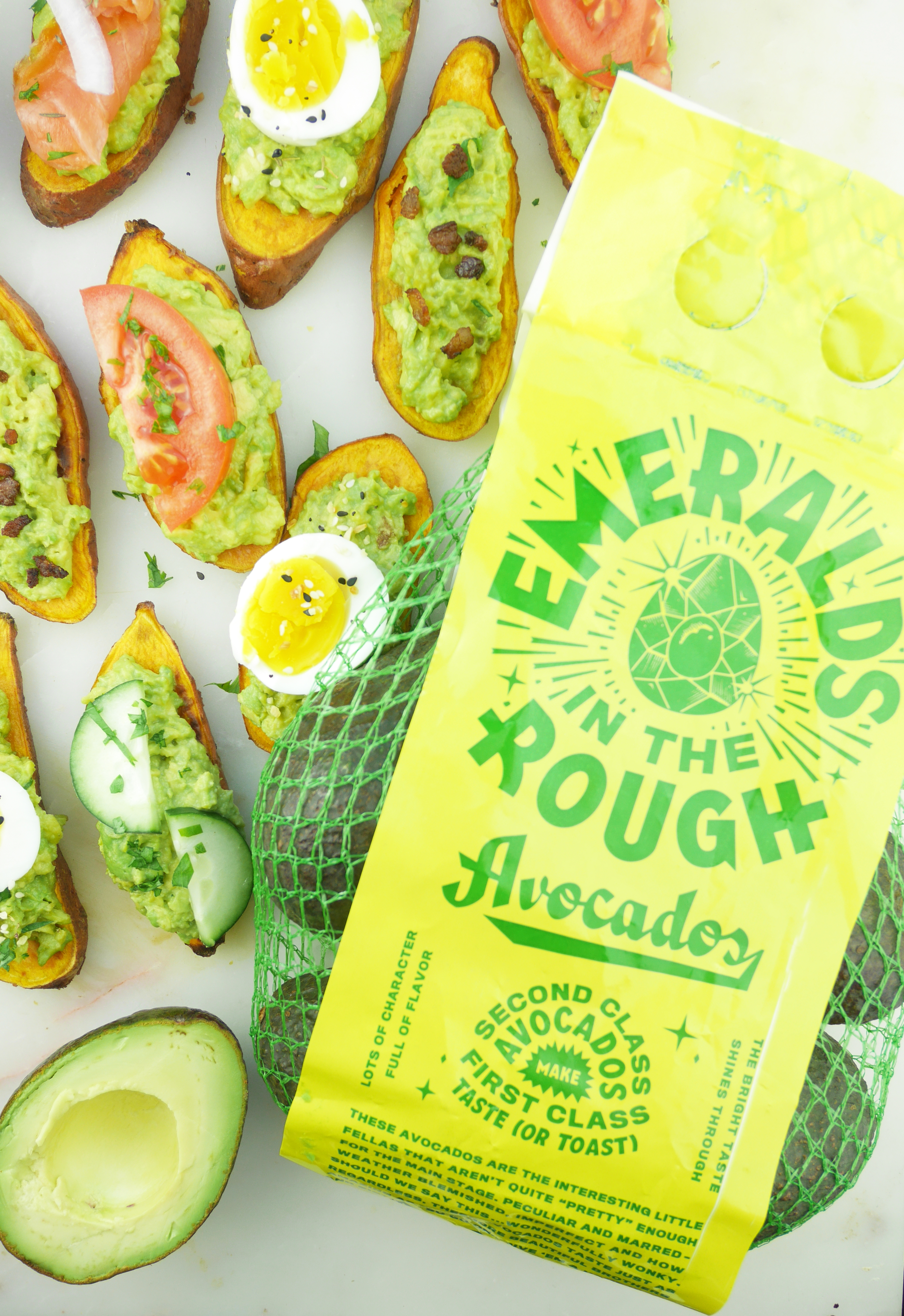 Mission Produce Emeralds in the Rough avocados