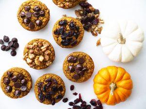 Pumpkin Modern Oat Muffins