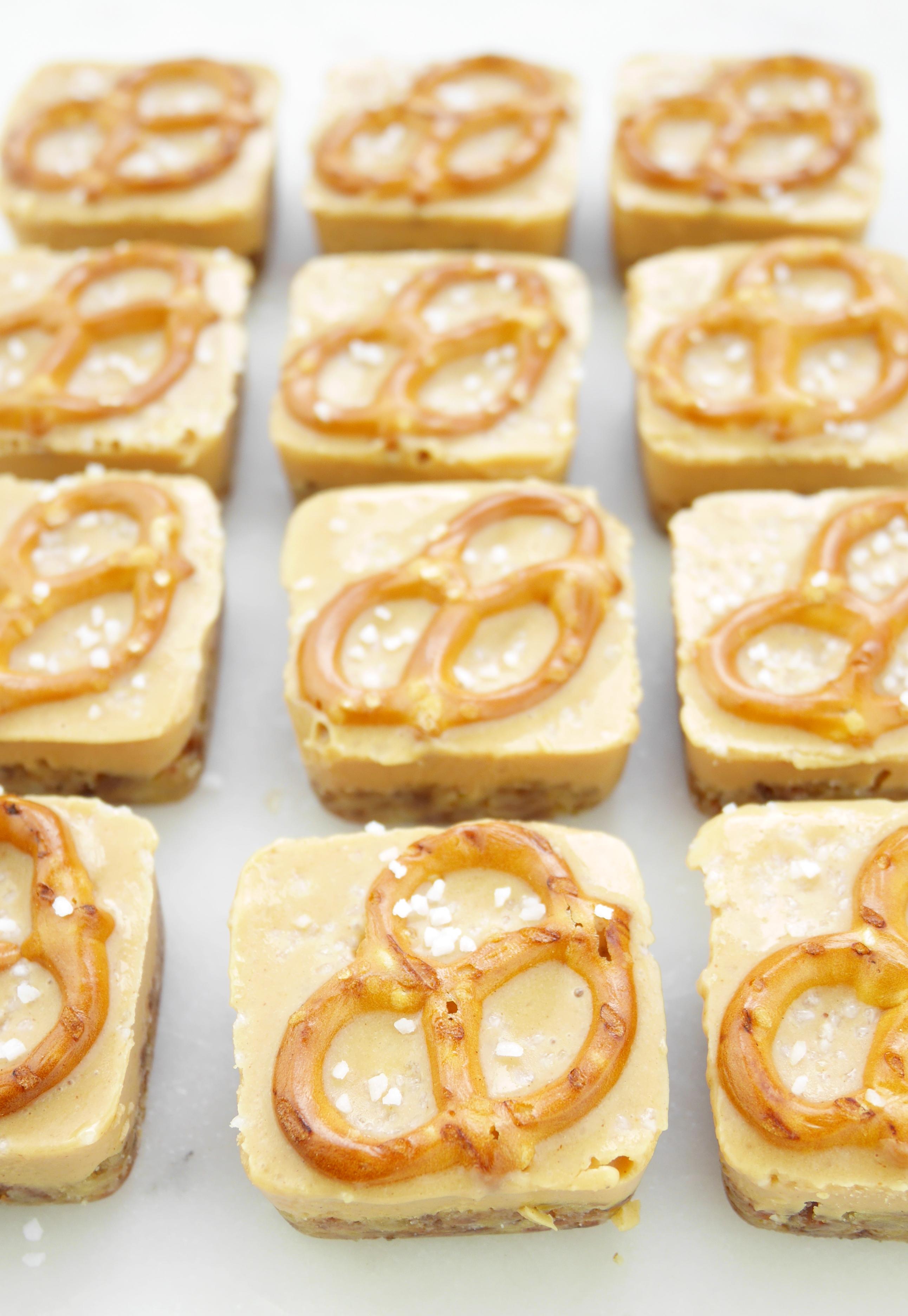 Peanut Butter Pretzel Fudge Natural Delights Medjool Dates