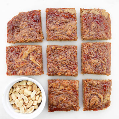 Peanut Butter and Jelly Probiotic Bars