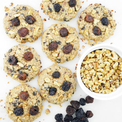 Staying Healthy During the Holiday Season: Sweet Cherry Breakfast Cookies