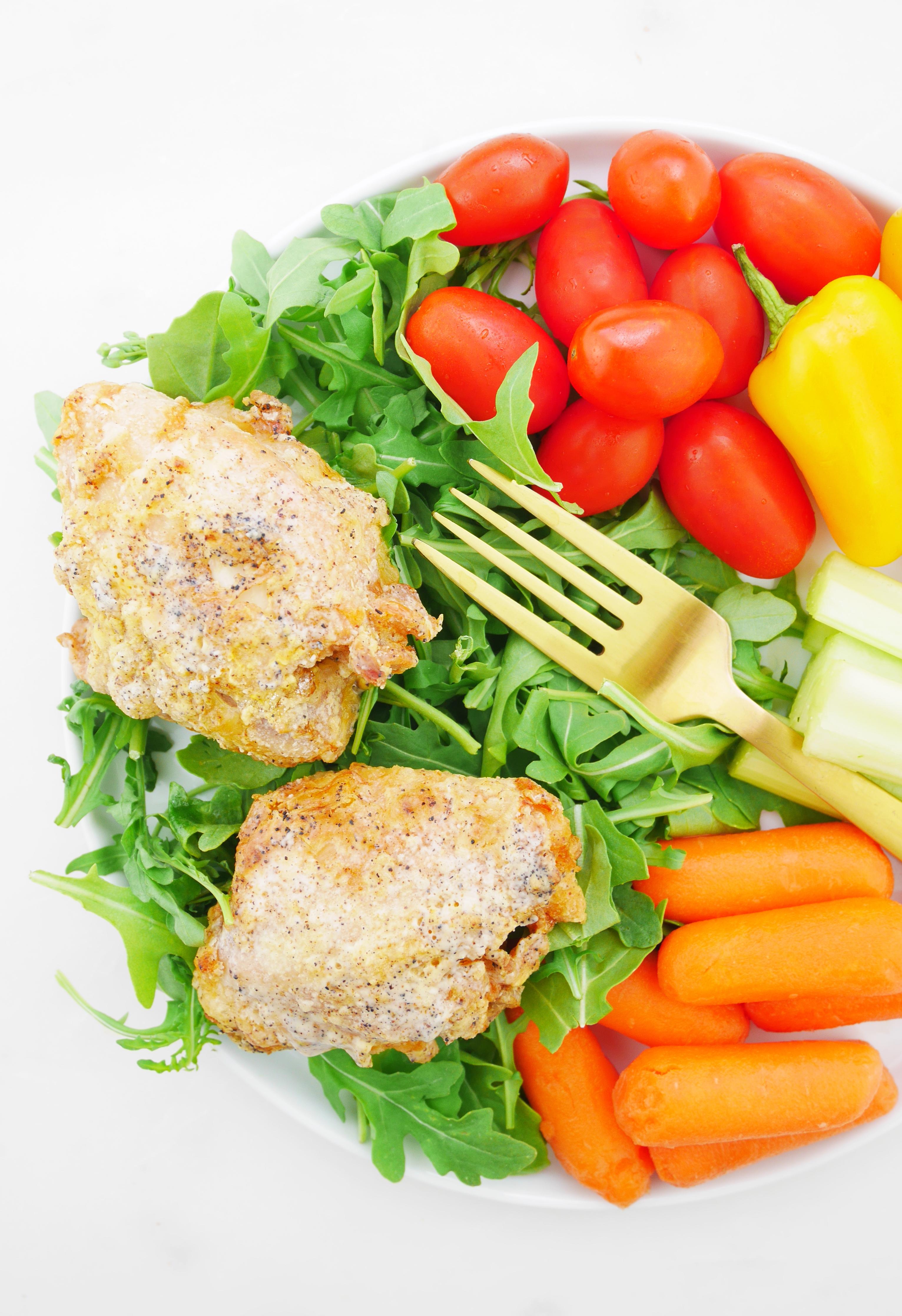 Springer Mountain Farms Boneless Skinless Chicken Thighs
