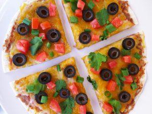 10-Minute Veggie Pizza