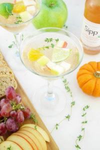 Fall-Infused Zesty Orange Cocktails