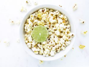 Turmeric Lime Popcorn