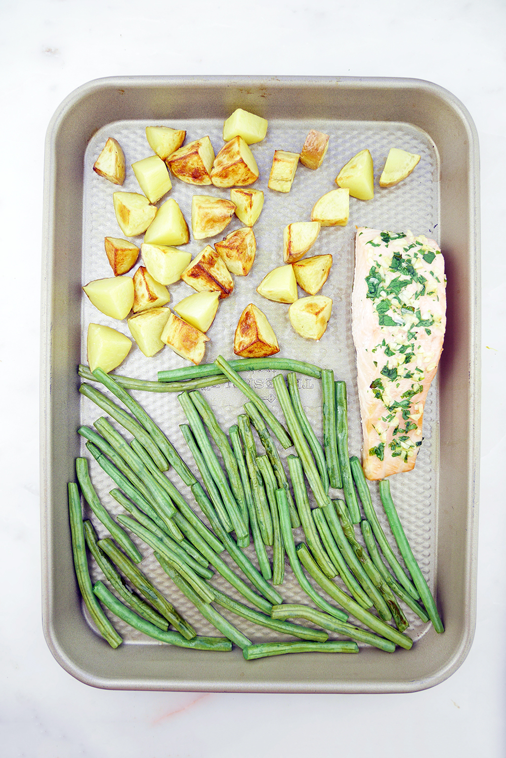 healthy sheet pan meal