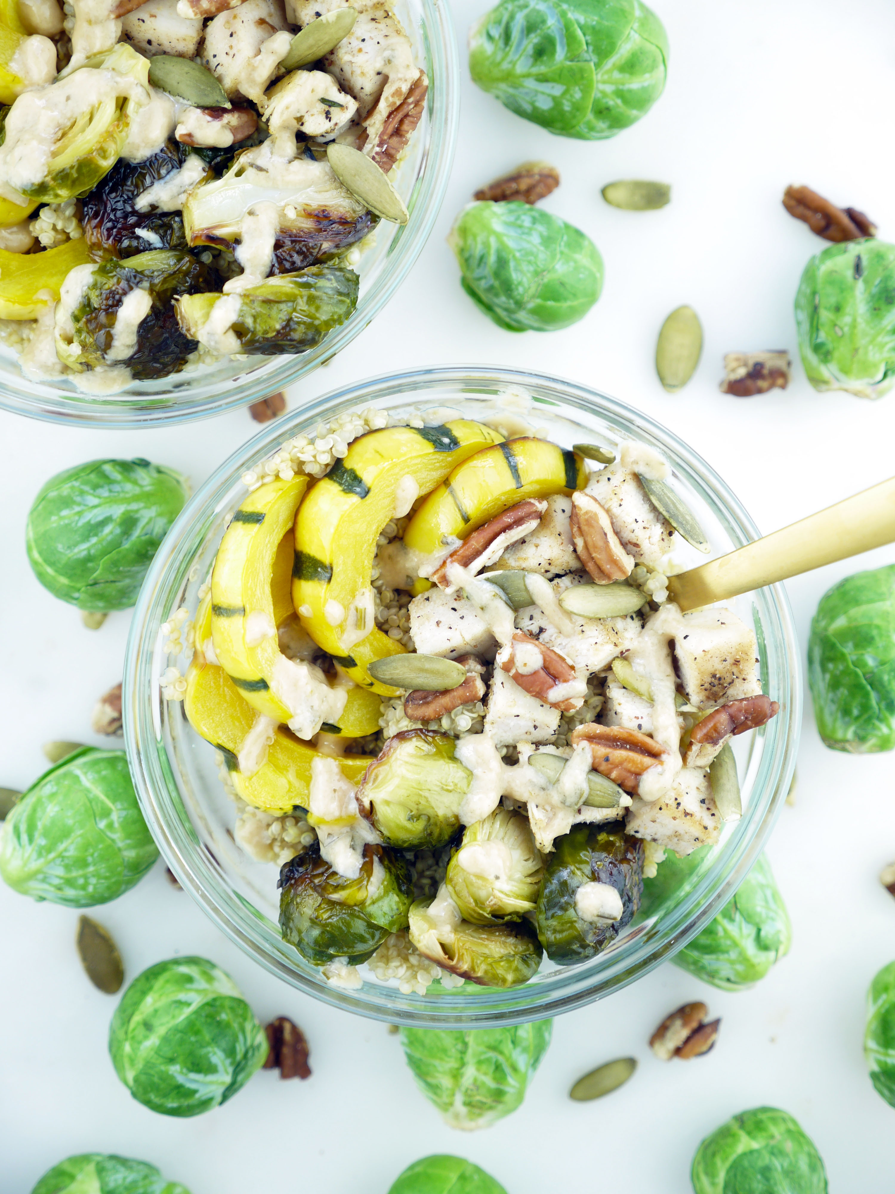 Protein-Powered Fall Bowl