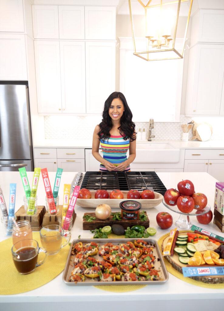 CHOMPS, Envy Apples, BareOrganics, Fresh Cravings Salsa