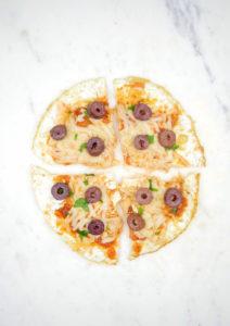 Egg White Pizza