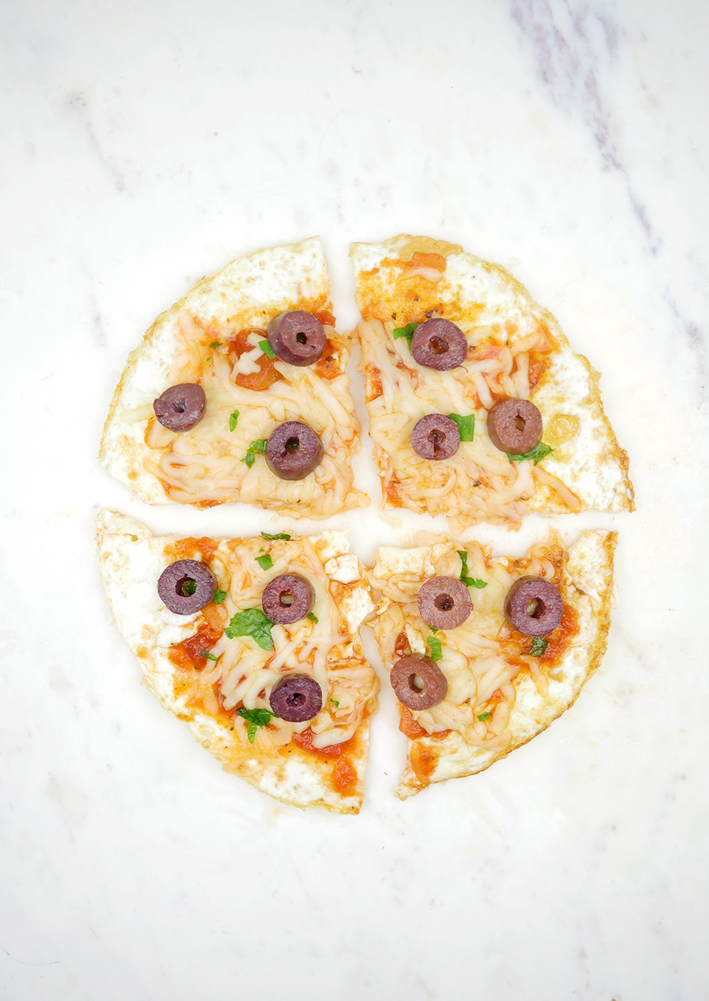 Egg white pizza low carb