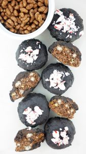 Sprouted Brown Rice Cacao Crispy Mint Patties