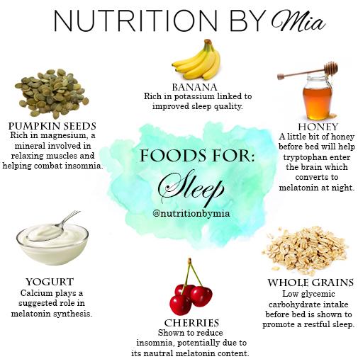 Foods for: Sleep