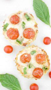 Tomato Basil Breakfast Tart
