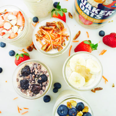 Overnight Oat 6 Ways