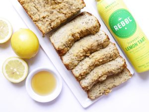 Melt-In-Your-Mouth Lemon Turmeric Chia Loaf