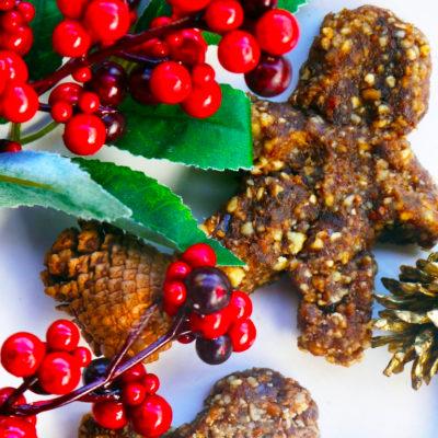 No-bake Gingerbread Cookies