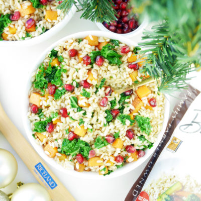 Healthy Holiday Brown Rice
