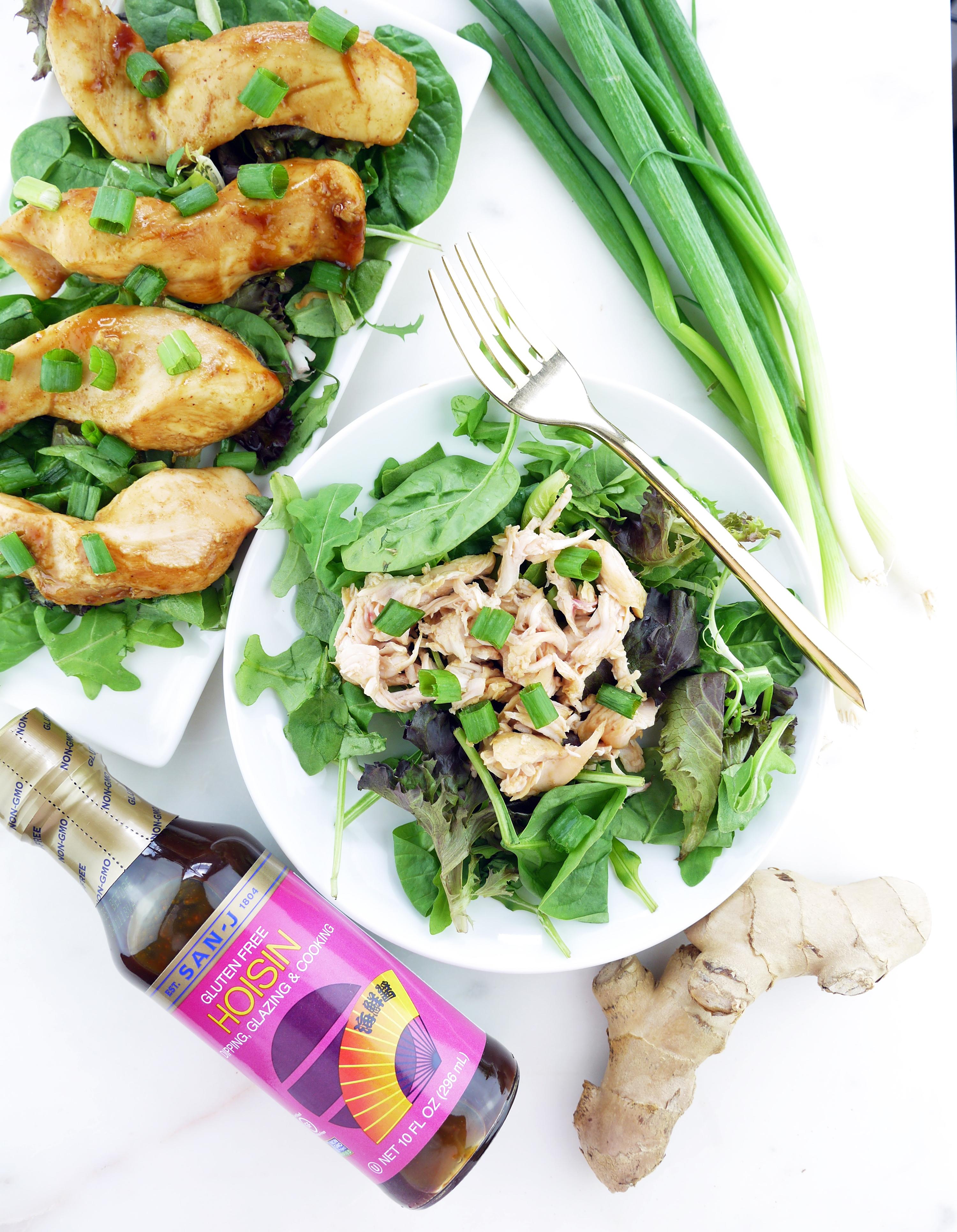 5 Ingredient Crockpot Chicken San-J Hoisin Sauce Gluten Free