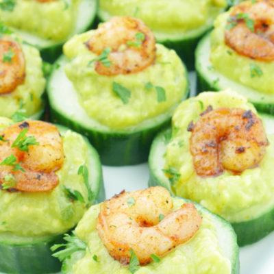 Avocado Shrimp Bites