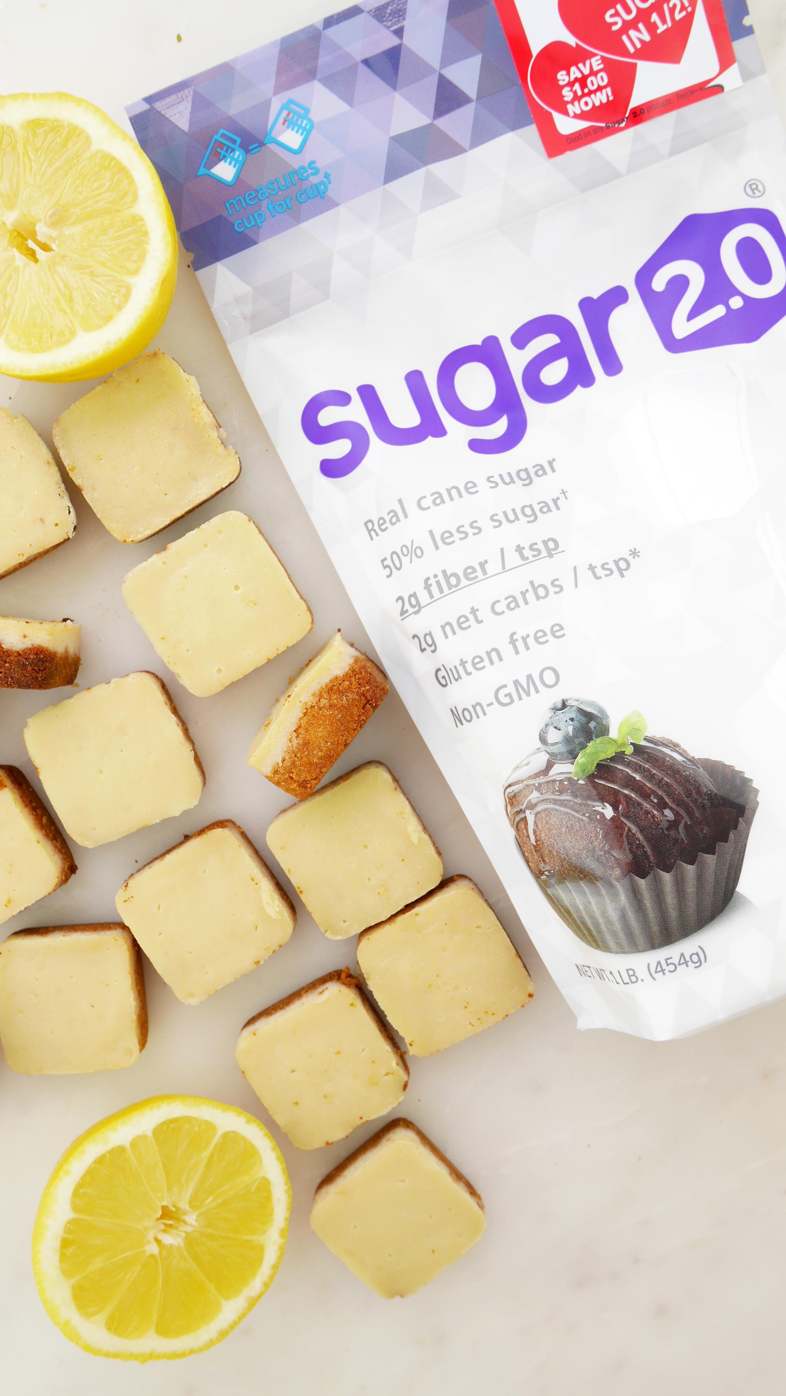 Sugar 2.0 Lemon Bites