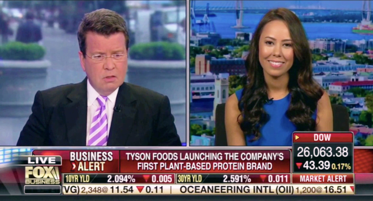 Fox News Business Registered Dietitian Nutritionist Meatless alternative meat Cavuto