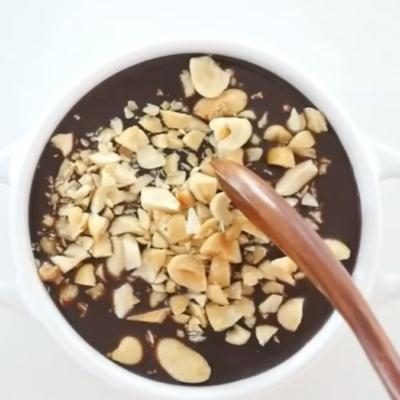 3-Ingredient Magic Shell Smoothie Bowl