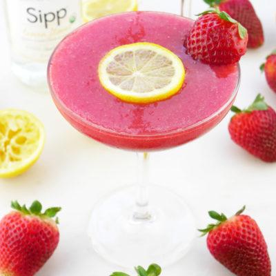 Strawberry Lemon Daiquiri