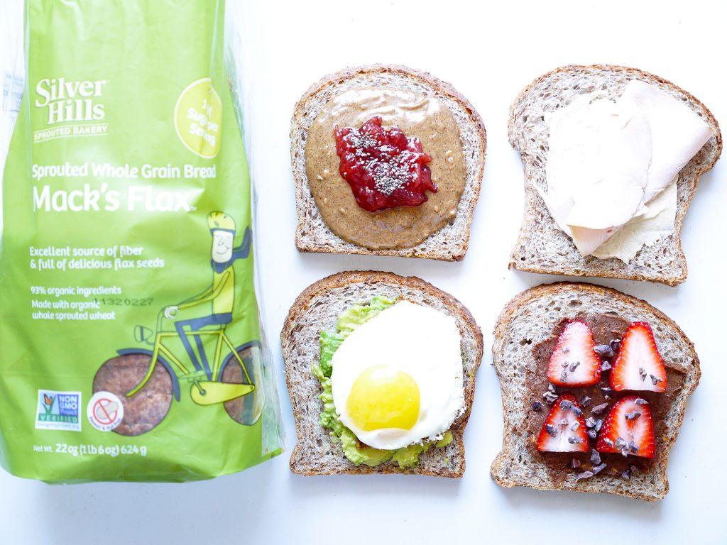 Silver Hills Open Face Sandwich