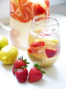 Strawberry Lemon Iced Tea