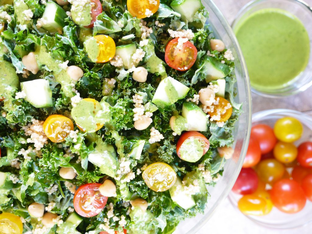 Hellmann's® Vegan Carefully Crafted Dressing & Sandwich Spread Green Goddess Salad