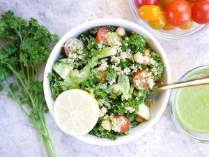 Summery Green Goddess Salad