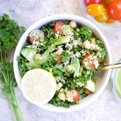 Summery Green Goddess Salad