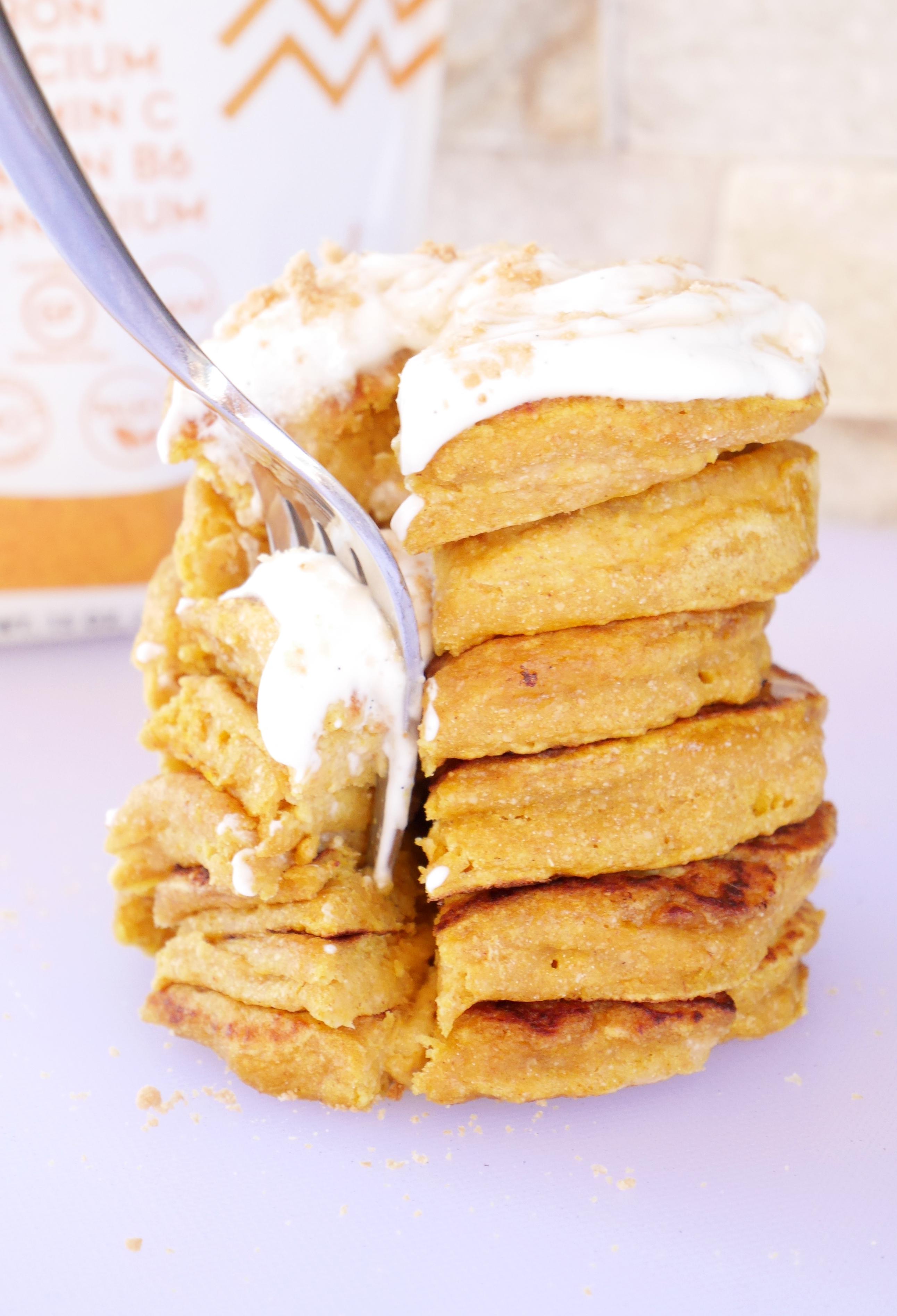 Golden Milk Pancakes Suncore Foods Turmeric Powder