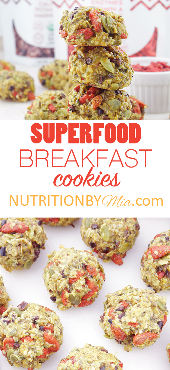 Suncore Foods Superfood Breakfast Cookies