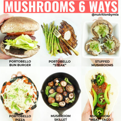 Mushrooms 6 Ways