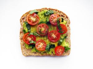 Tomato Basil Toast