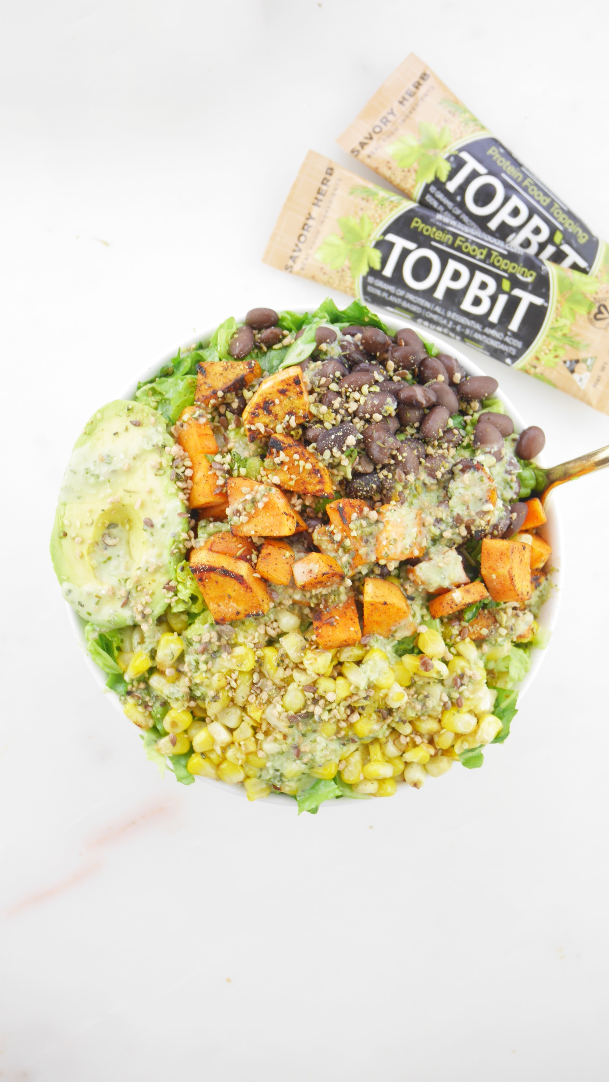 Taco Superfood Salad TopBit Savory