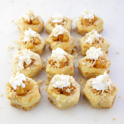 Crispy Apple Pie Bites