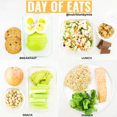 How to plan your daily eats during busy weeks