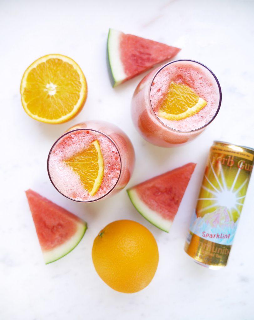 Sparkling Watermelon Mimosa Herb Guru Brand