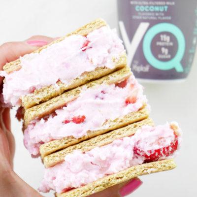 5-Ingredient Strawberry Coconut Sandwiches