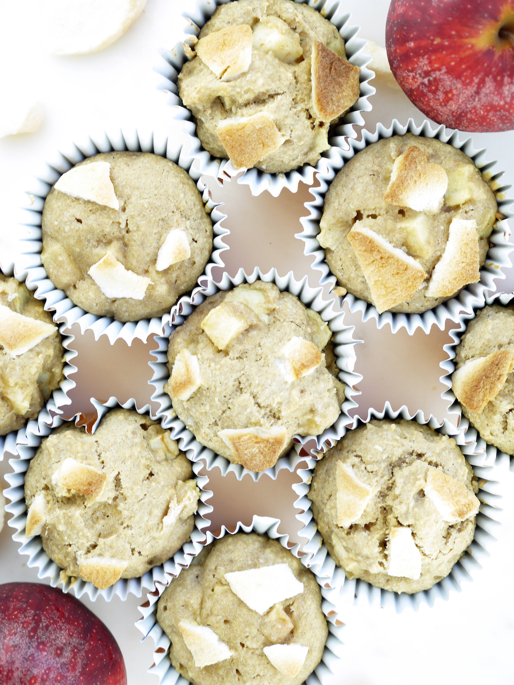 Crispy Green Apple Muffins