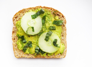 Cucumber Avocado Toast and Most Hydrating Produce for Summer