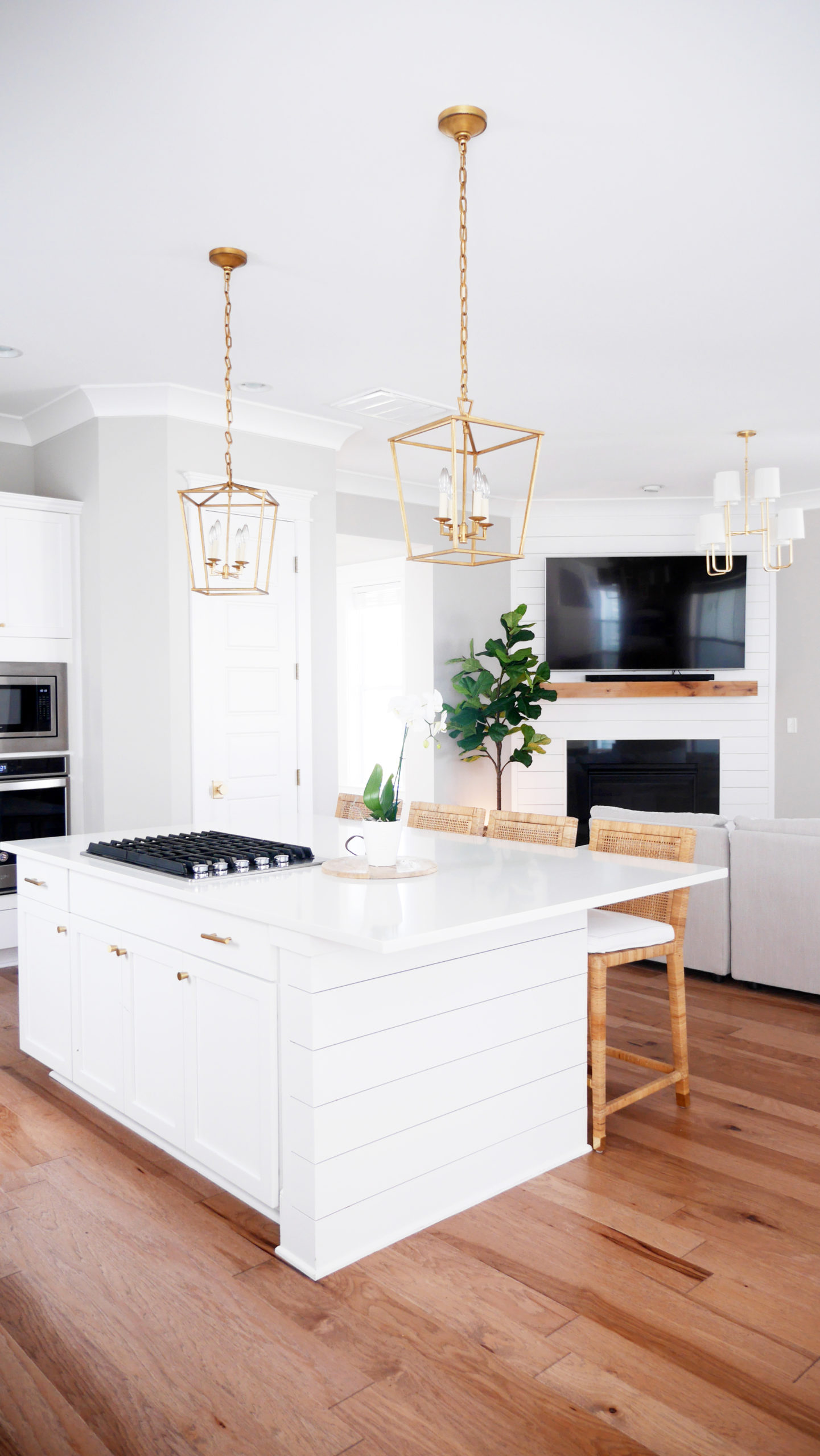 Serena and Lily, Mcgee and co., custom kitchen